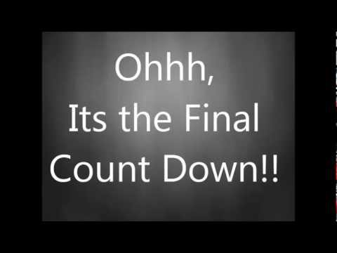 Europe - The Final Countdown(with lyrics) - YouTube