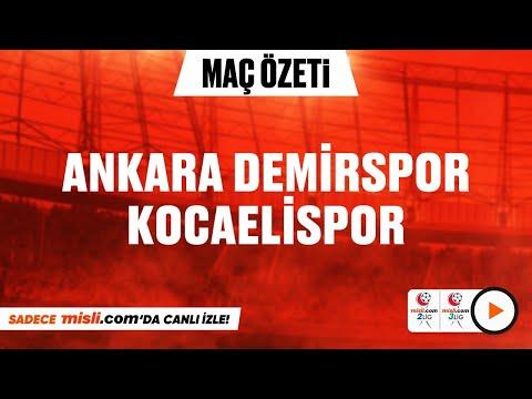 02.01.2021 | Ankara Demirspor 1-3 Kocaelispor | Misli.com 2. Lig 3. Lig