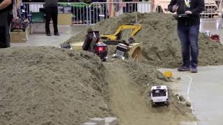 RC Construction Trucks! - Vehicles-  from Oslo Motor Show 2016