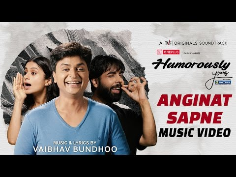 """Humorously Yours OST – """"Anginat Sapne"""" 