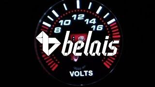 Указатель напряжения «KetGauge» LEXUS STYLE 7701-2 (Ø52) — «Белайс»
