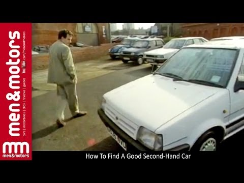 How To Find A Good Second-Hand Car