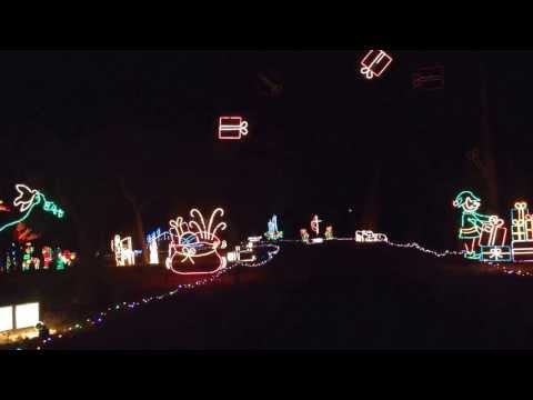 Beloit, KS Chautauqua Isle of Lights 2013 timelapse