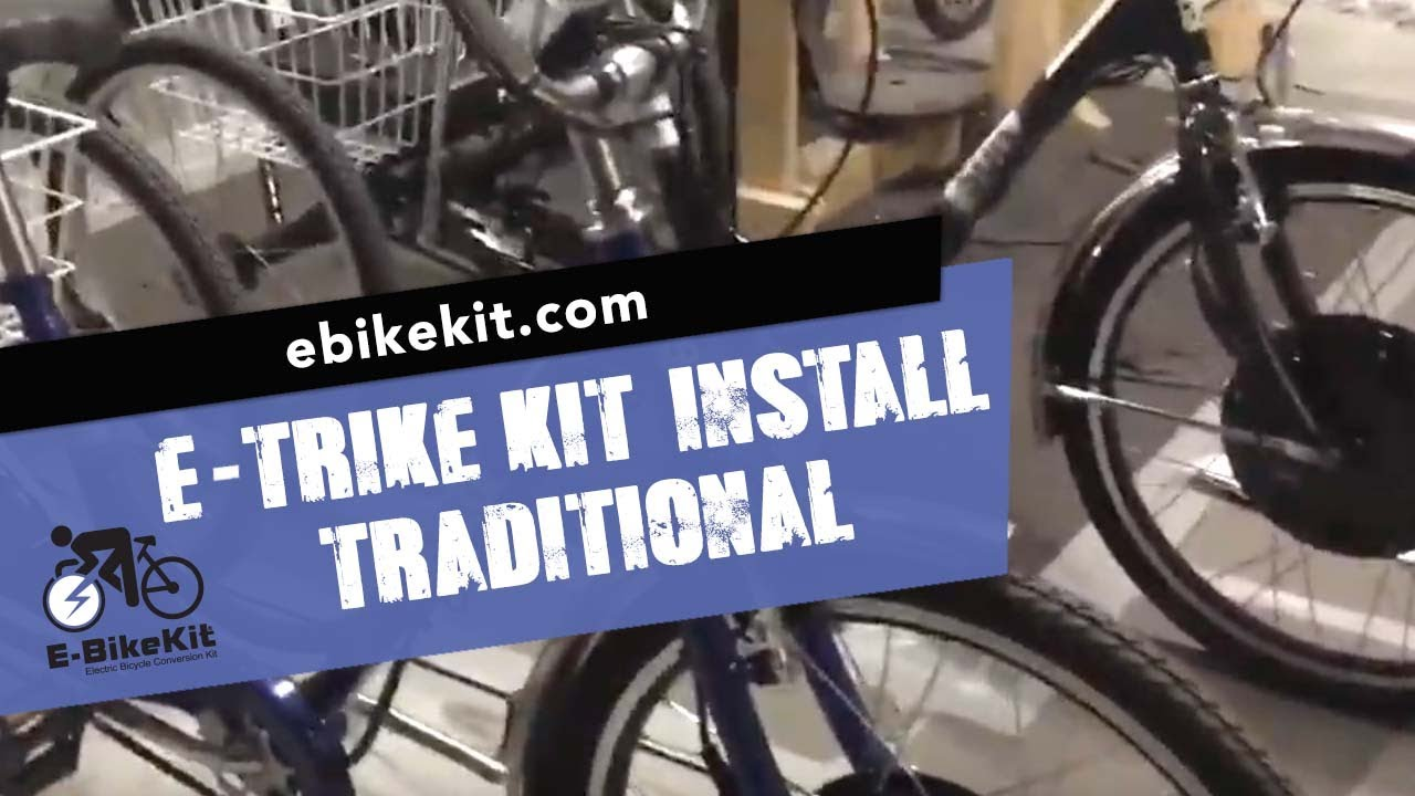 Conversion Details - Sun Traditional Trike with E-TrikeKit