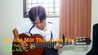 Guitar cover, Ghita, Để Nhớ Một Thời Ta Đã Yêu