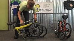 pakiT Folding Bike - Quick Fold Overview