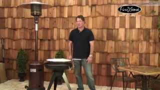 Fire Sense Hotspot Terrace 600 Charcoal Grill