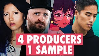 Download lagu 4 PRODUCERS FLIP THE SAME SAMPLE feat. In Love With A Ghost, KayKay, Grant Stinnett
