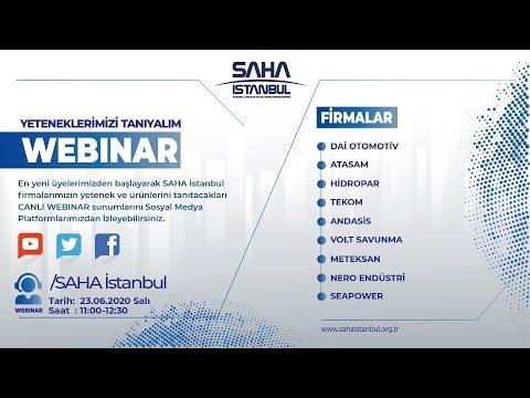 SAHA İstanbul Elektrik ve Elektronik Komitesi 23.06.20 Canlı Yayını