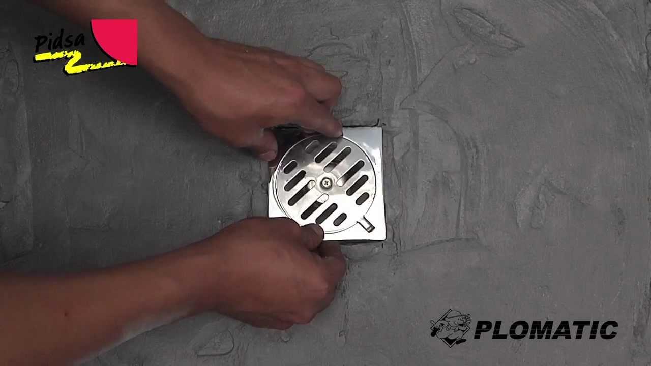 C mo instalar la coladera cuadrada 10x10m de acero for Como poner llaves de regadera