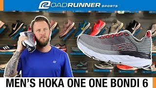 Men's Hoka One One Bondi 6 | Fit Expert Shoe Review