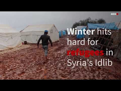 Winter hits hard for refugees in Idlib