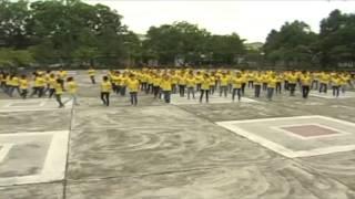 [35 NĂM KHOA HÓA-BKĐN] Nhảy Flash mob kỷ niệm 35 năm thành lập khoa Hóa