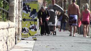 """Caught in the act: the """"crippled"""" beggar of Benidorm"""