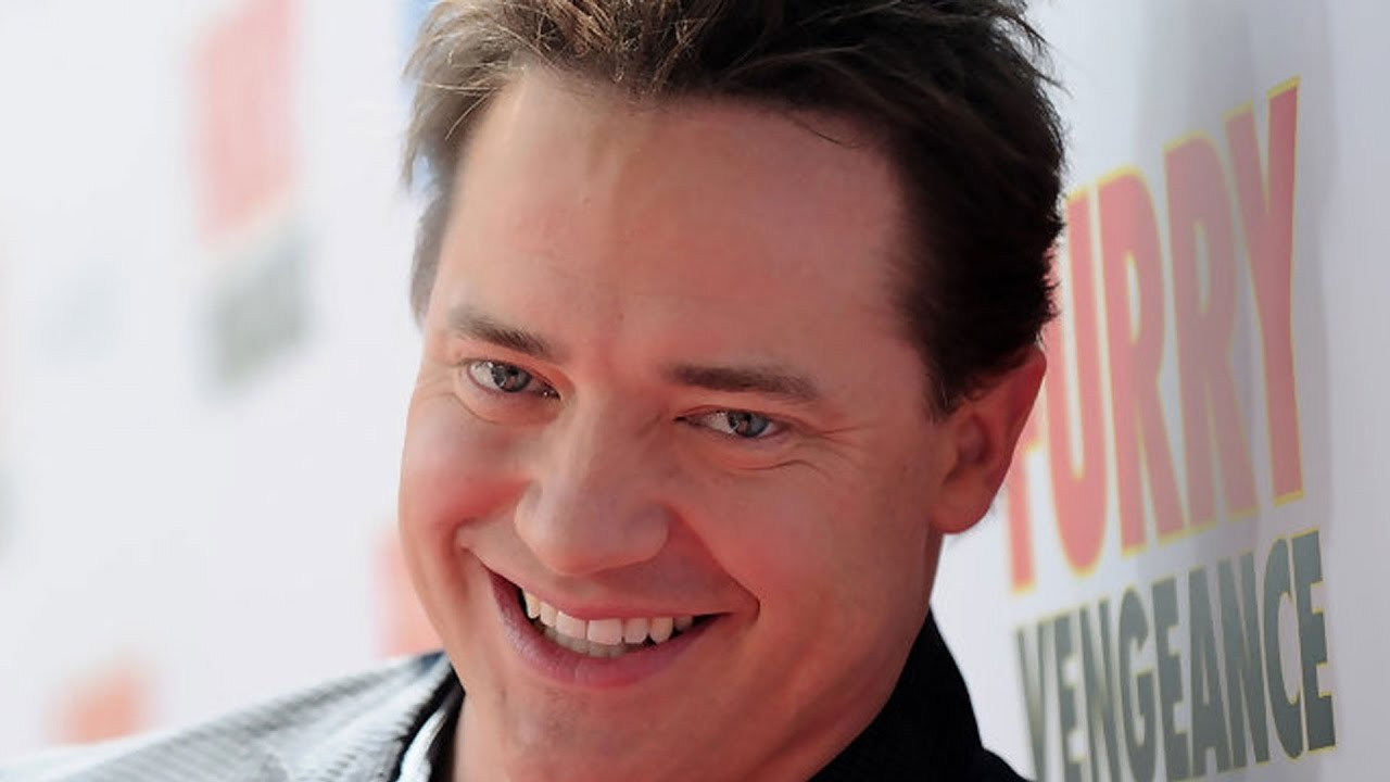 The real reason hollywood dumped brendan fraser youtube - Brendan fraser bald ...