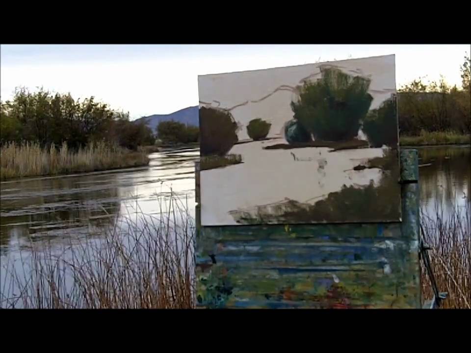 Plein Air Painting Demonstration Gregg Russell Youtube