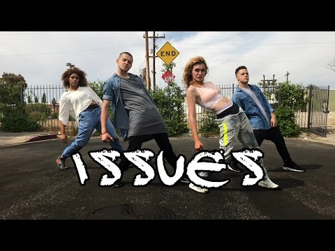 Julia Michaels - Issues || Alyson Stoner & BJ Paulin Choreography