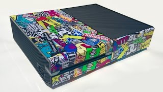 Video SkinOwn Sticker Bomb Xbox One Console Skin Installation and Review download MP3, 3GP, MP4, WEBM, AVI, FLV Agustus 2018