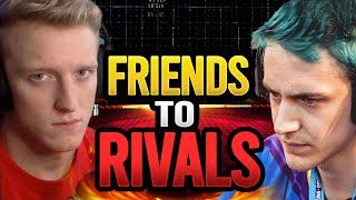 The 2 BIGGEST Fortnite Streamers Hate Each Other! Tfue vs Ninja Drama Explained