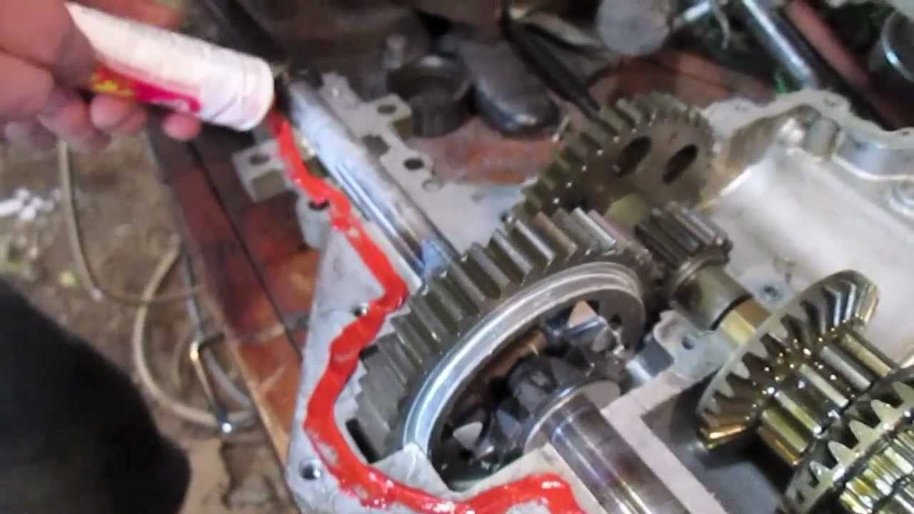 Murray Lawn Tractor Transmission Parts : Locking a transaxle with fearlessfront youtube