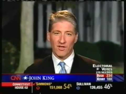 Election Night 2004 CNN  Coverage Part 2