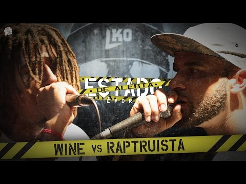 Liga Knock Out / EarBox Apresentam: Wine vs Raptruista (Estado de Alerta)
