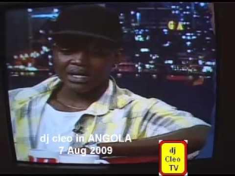 dj cleo tv- live on Angola tv