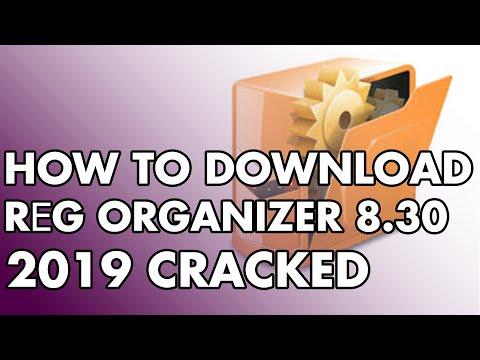 HOW TO DOWNLOAD AND CRACK THE REG ORGANIZER  (2019) آموزش  دانلود و کرک نرم افزار بهینه ساز رجیستری