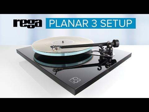 Rega Planar 3 2016 Turntable Setup