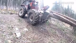Jazda bokiem, LKT 80 Zrywka drewna