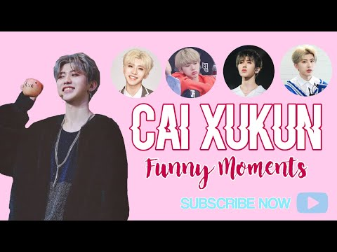 Cai Xukun [Idol Producer] FUNNY MOMENTS