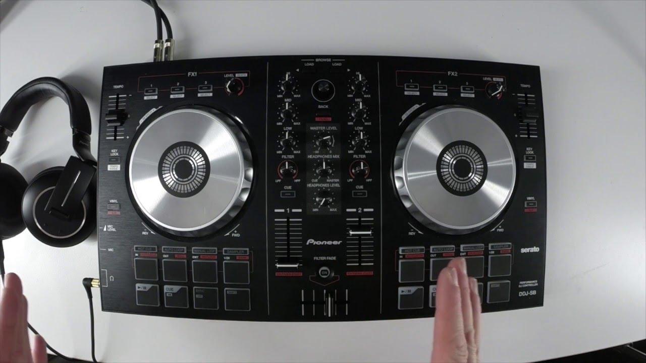 pioneer dj ddj sb setup rekordbox dj introduction. Black Bedroom Furniture Sets. Home Design Ideas