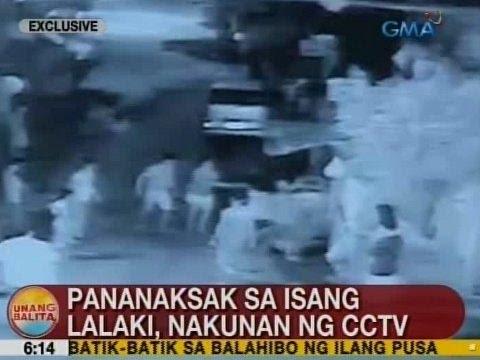 UB: Pananaksak sa isang lalaki sa Taguig, nakunan ng CCTV