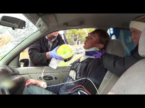Elkhart Lake Glenbeulah High School Mock DUI Crash OFFICIAL VIDEO