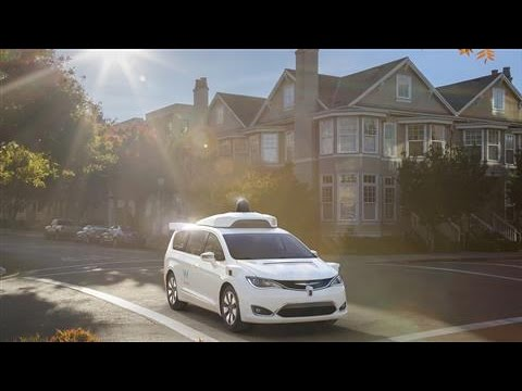 Google's Waymo Unveils Self-Driving Minivan