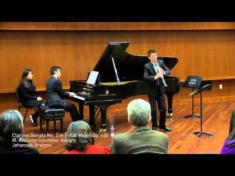 Brahms Clarinet Sonata No. 2 in E-flat Major, Op. 120