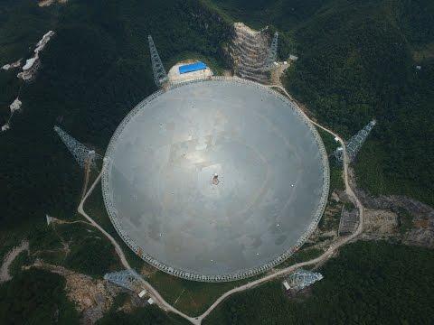 What makes world's largest radio telescope so extraordinary