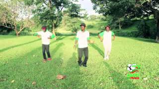power of 9ja dance for peace flashmob tutorial video