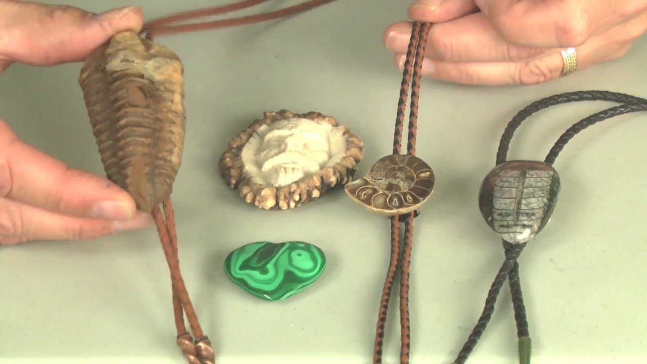 How To Make A Bolo Tie From Almost Anything Full - YouTube