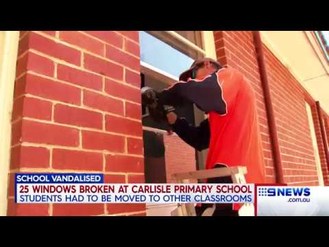 School Vandalised | 9 News Perth
