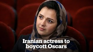 Iranian actress to boycott Oscars