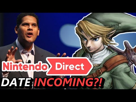 """RUMOR - Nintendo Direct Date to be Announced Soon & Reggie on NOT Wanting to """"Age-up"""" The Logo!"""