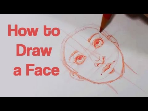 How to draw a face art tutorial series 1 youtube