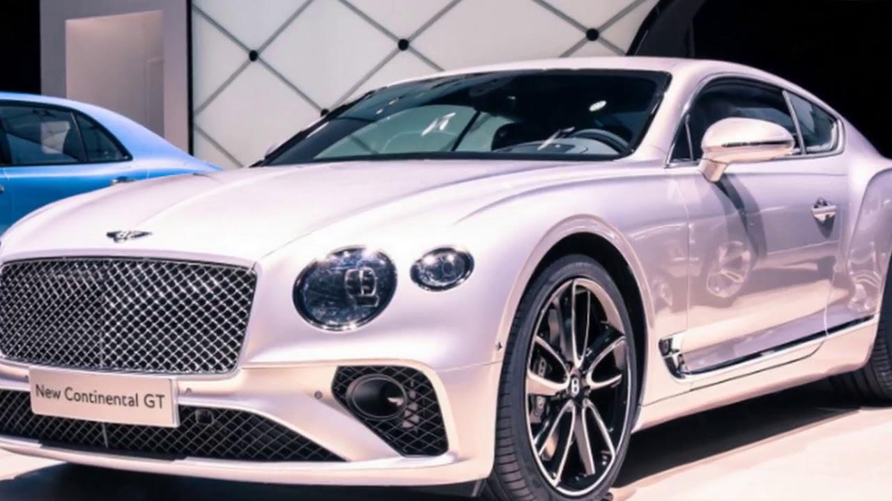 2018 bentley continental gt revealed   2017 frankfurt motor show