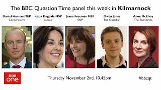 Question Time 2/11/17: Sexminster, Spain v Catalonia, smacking ban, fair taxes & Davidson 4 PM