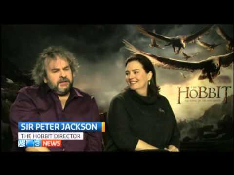 The Hobbit: BOFA London PJ, Philippa Boyens Press
