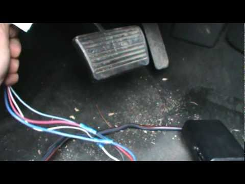 how to install a trailer brake controller on a 2007 chevy pickup