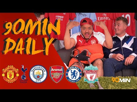 Kyle Walker moving to Man City for £50mil!? |Lacazette scores first goal for Arsenal! | 90min Daily