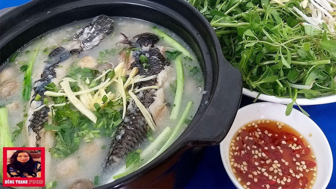 Cách nấu Cháo Cá Lóc không tanh, thơm ngon và bổ dưỡng cho bữa cơm tối gia đình by Hồng Thanh Food