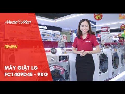 Máy giặt 9Kg LG Inverter FC1409D4E